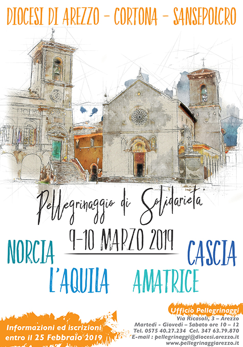 2019 :: Norcia – Amatrice – L'Aquila – Cascia