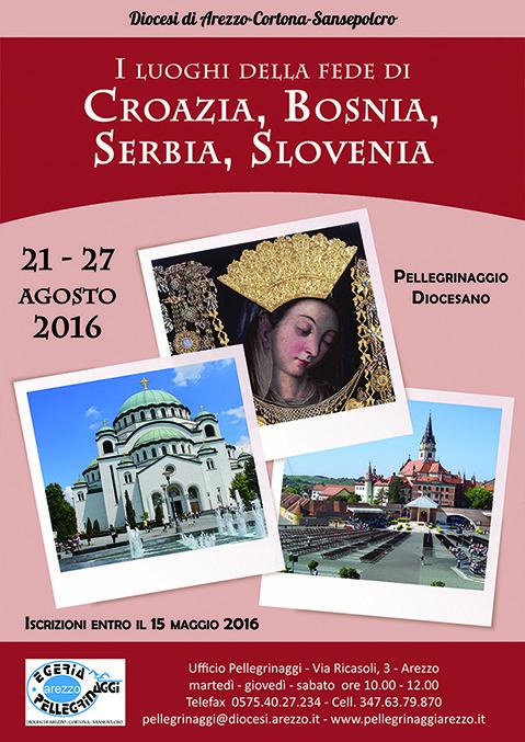 2016 :: Croazia, Bosnia, Serbia, Slovenia