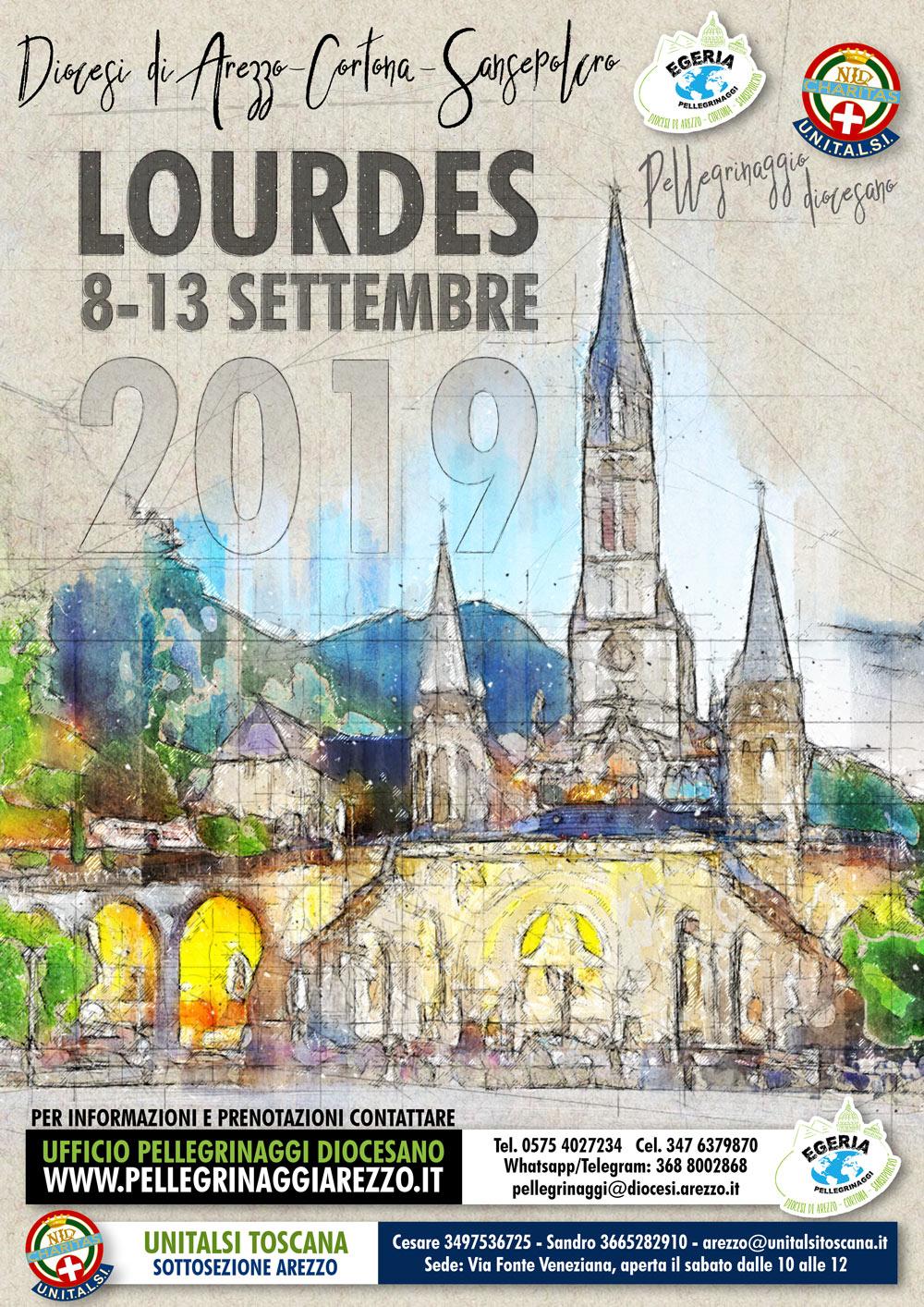 2019 :: Lourdes Pellegrinaggio Diocesano